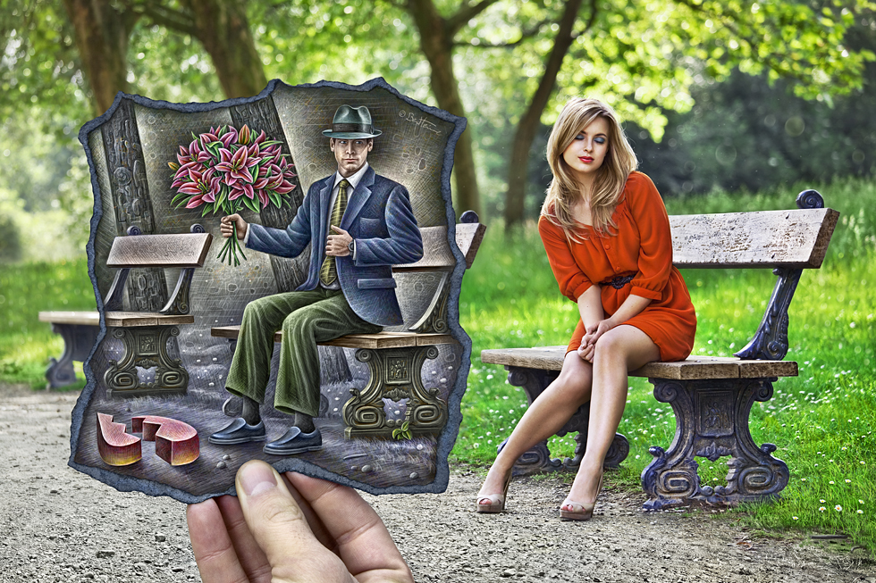 In the park by Ben Heine