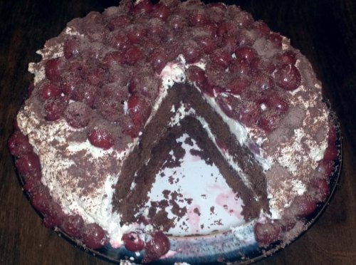 Black Forest Gateau by Mark