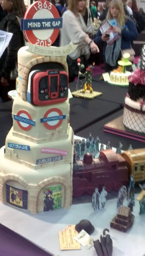 Mind The Gap Cake