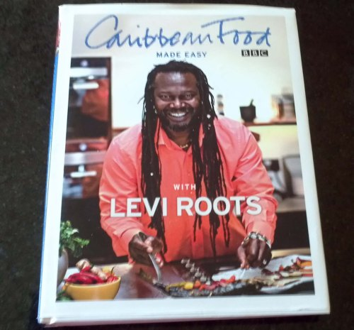 Caribbean Food with Levi Roots cook book - condition unclear - £1
