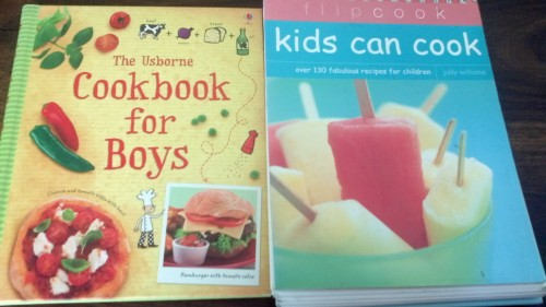 Cook books so we can start training while they are young