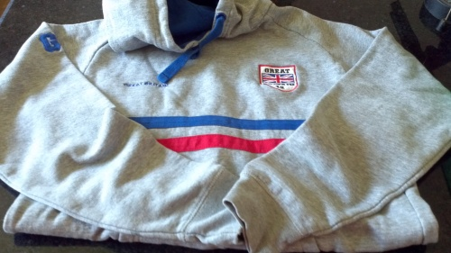 Hooded GB Jumper - used but looks like new - £1