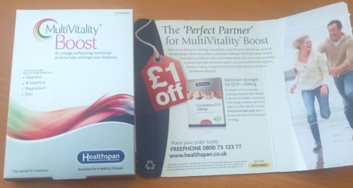 Multivitality Boost  Pack