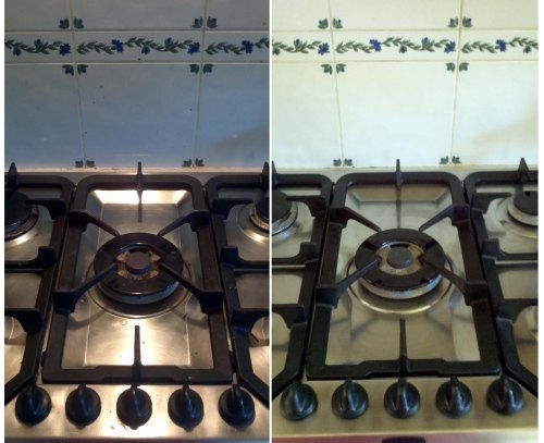 My cooker before and after
