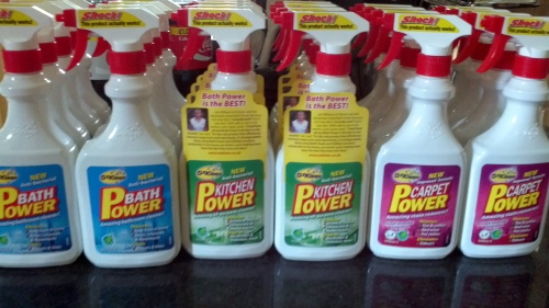 My Cleaning Super Powers!