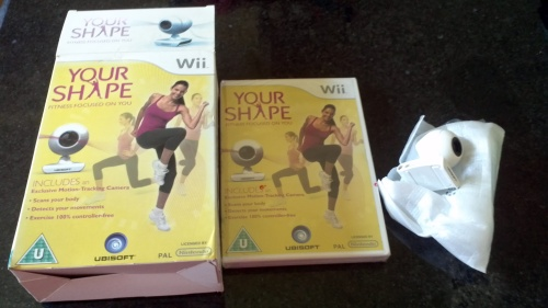 "Wii ""Your Shape"" - Brand New - Boxed & Sealed - £3"
