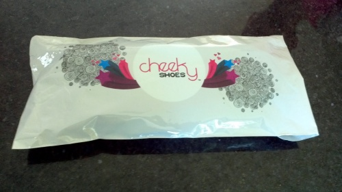 cheeky parcel = cheeky shoes
