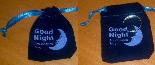 Good Night Anti-Snoring Ring