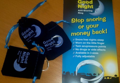 The Good Night Anti-Snoring Ring