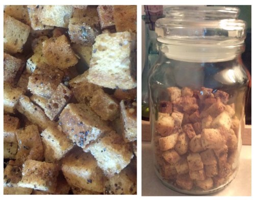 Our Homemade Croutons