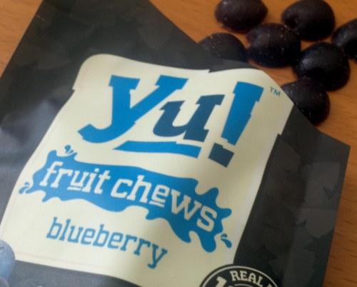 Yu! Jus Fruit - fruit chews blueberry