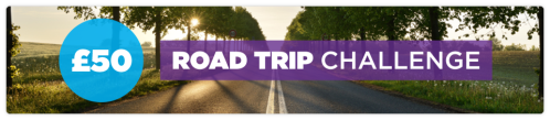 Car Insurance - £50 Road Trip Challenge - Header image