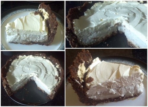 Coconut Cream Pie with Ginger Snap Crust