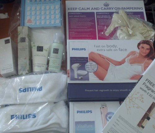 #‎PhilipsBeauty‬ Come Round Party Kit