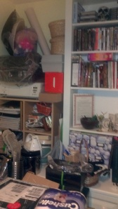 This is just one corner of the room