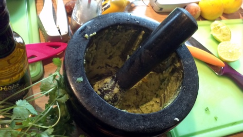 "Pestle & Mortar Practical ""Make your own Guacamole"""