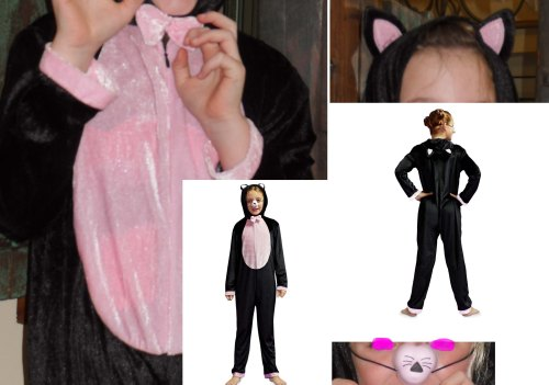 Halloween Cat Onesie Costume from F&F