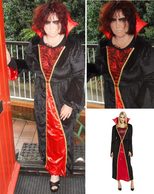 Halloween Vampiress Costume from F&F