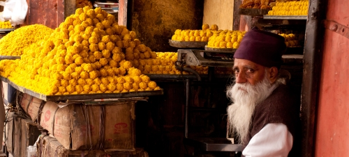 Sweet Salesman, Jaipur, India