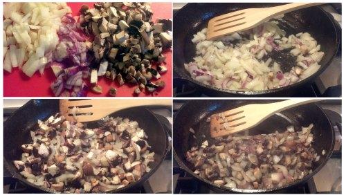 6. Onions and Mashrooms