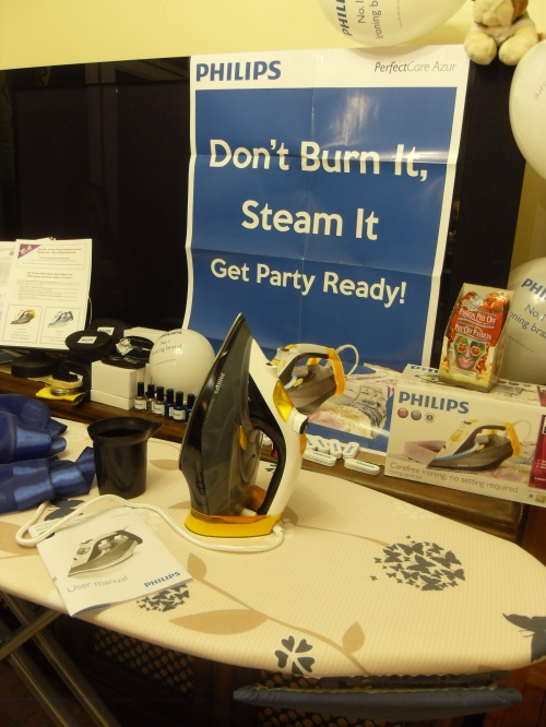 Don't Burn It. Steam It. Get Party Ready!