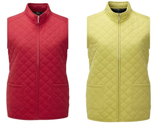 Jersey Quilted Gilets