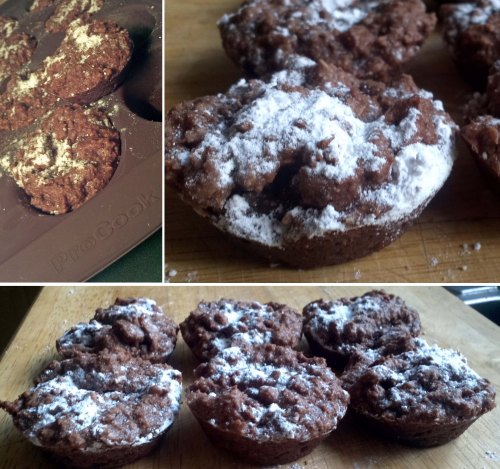 Chocolate and Coconut Macaroons