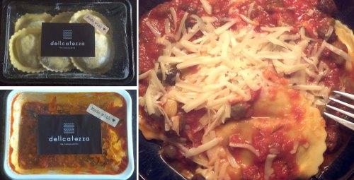 Girasoli with Pizzaiola Sauce