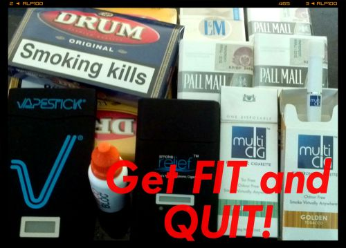 Get fit and quit!