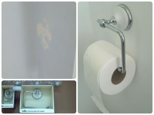 Bathroom Makeover on a Budget The Loo Roll Holder