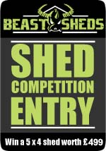 Beastsheds Blogger Competition Badge