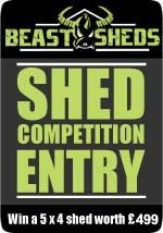 Beastsheds Blogger Competition Badge