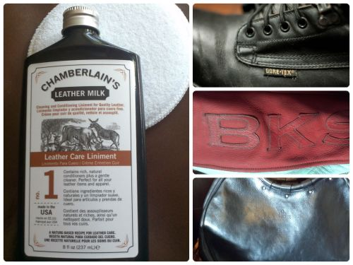 Chamberlain's Leather Milk No.1 for all your leathers