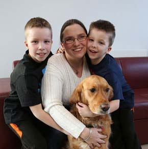 Jazz- Guide Dog of the Year in 2013