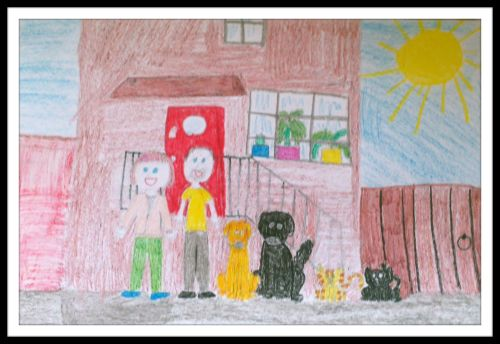 Drawing by Miss Z. Age 7