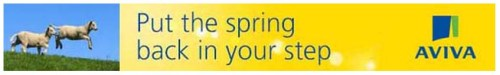 Aviva Put the spring back in your step
