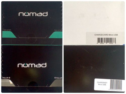 ChargeKey & ChargeCard from Nomad