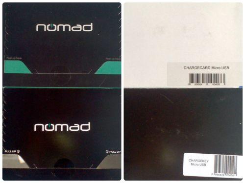 ChargeKey & ChargeCard from Nomad