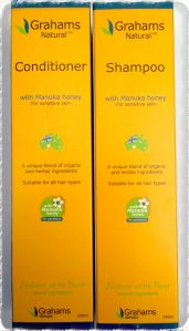 Grahams Manuka Honey Shampoo & Conditioner