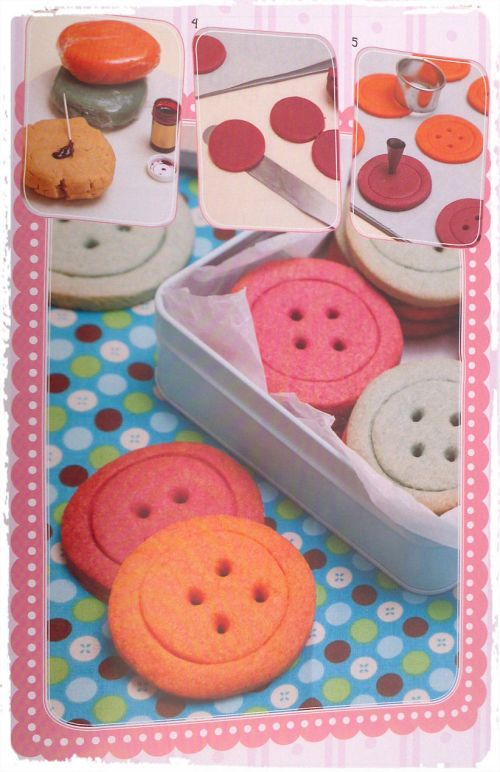 Make Bake Cookies The Recipe Book Button Cookies