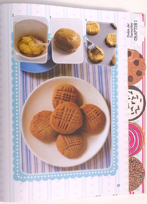 Make Bake Cookies The Recipe Book peanut butter cookies