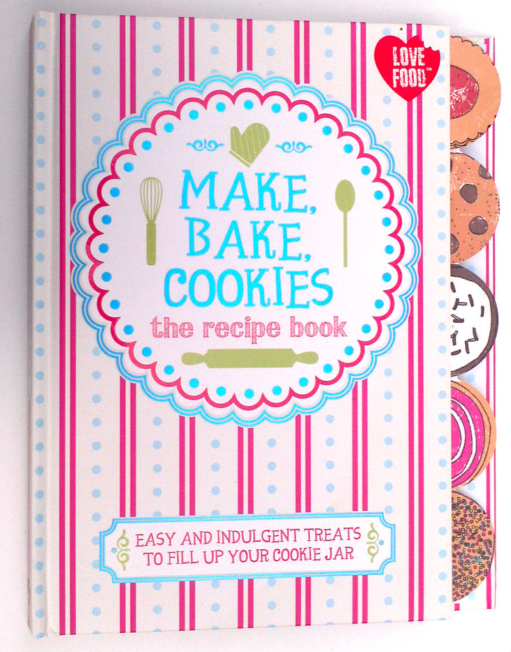 parragon book buddy make bake cookies the recipe book bark time