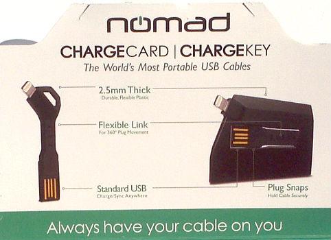 Nomad ChargeKey & ChargeCard