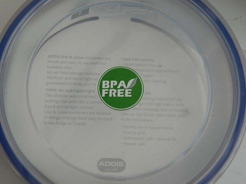 Addis Clip & Close Food Containers BPA FREE