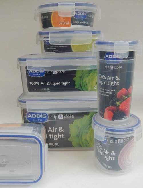 Addis Clip & Close Food Containers