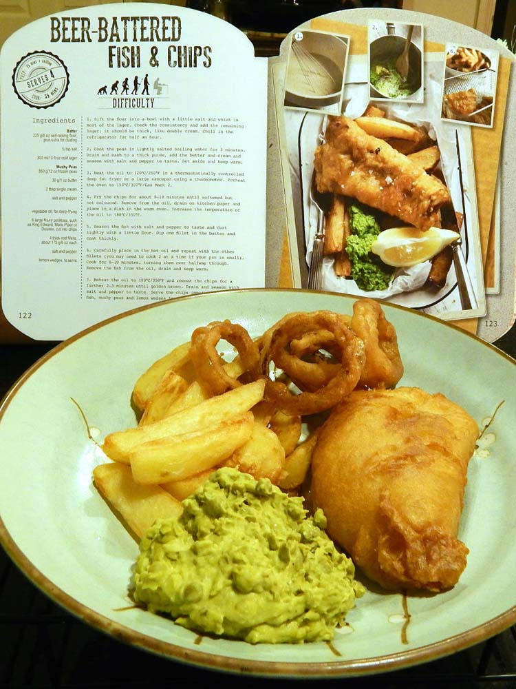 Parragon book buddy man up your meals beer battered for Beer batter fish and chips
