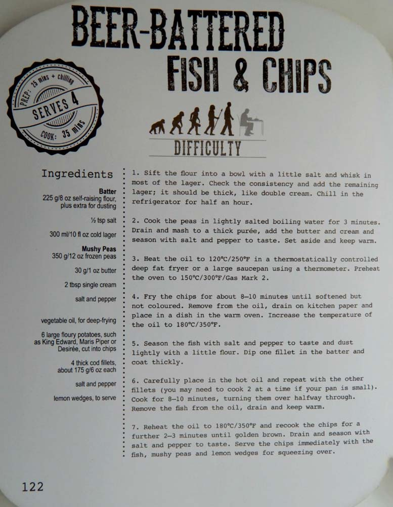 Parragon book buddy man up your meals beer battered for Beer battered fish and chips recipe