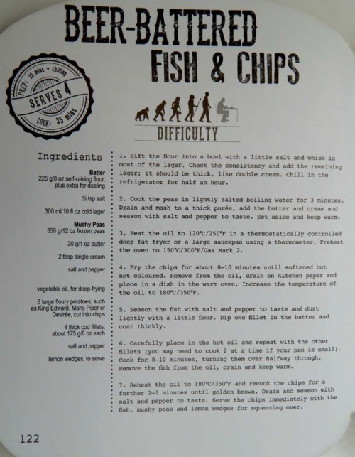 Beer-Battered Fish and Chips Recipe if you want to try it out