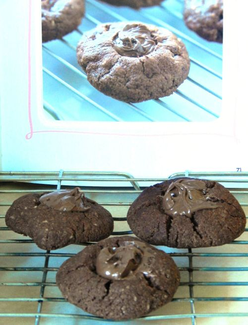 Chocolate and Hazelnut Drops from Make, Bake, Cookies