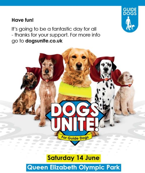 Dogs Unite for Guide Dogs 14 June 2014